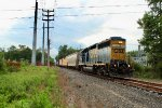 SA-31 heads through New Beginnings with CSX 4429 and 7 cars